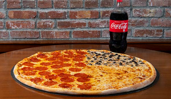 Big Mama's One Topping Pizza & Soda