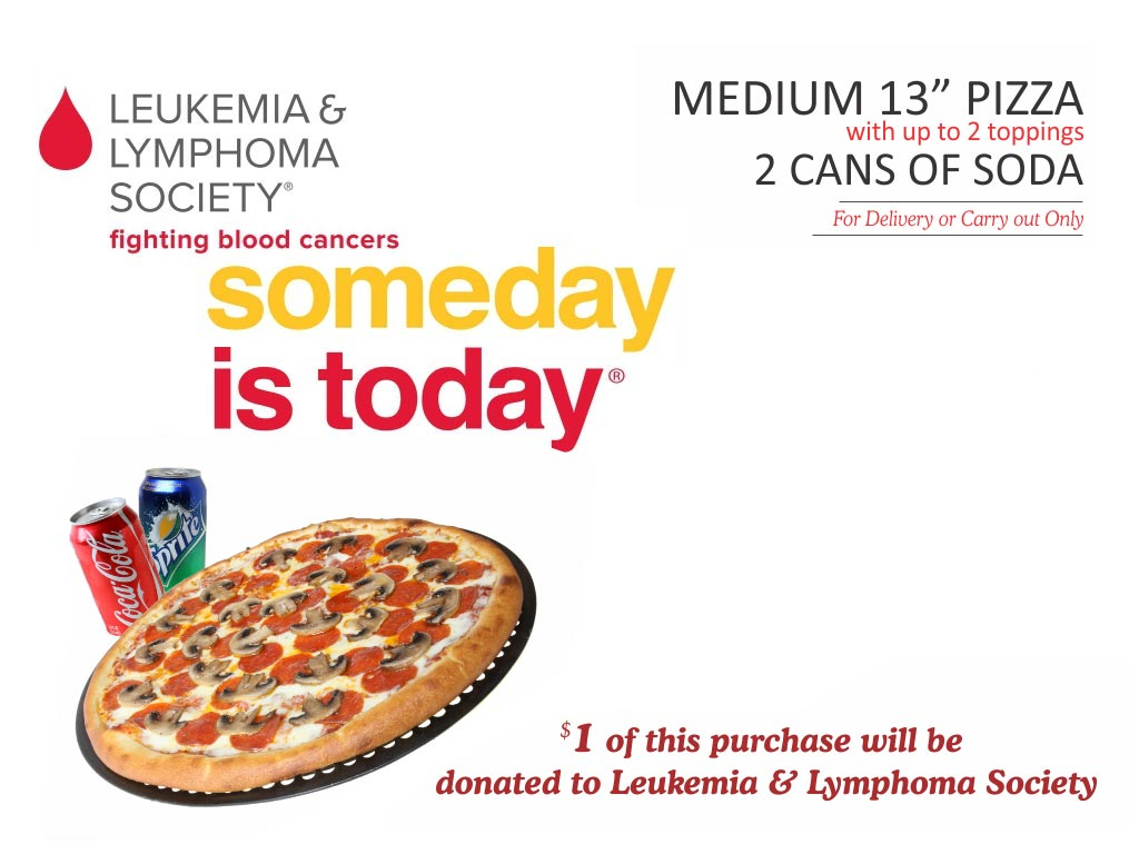 Big Mama's and Papa's Pizza - Help Fight Cancer