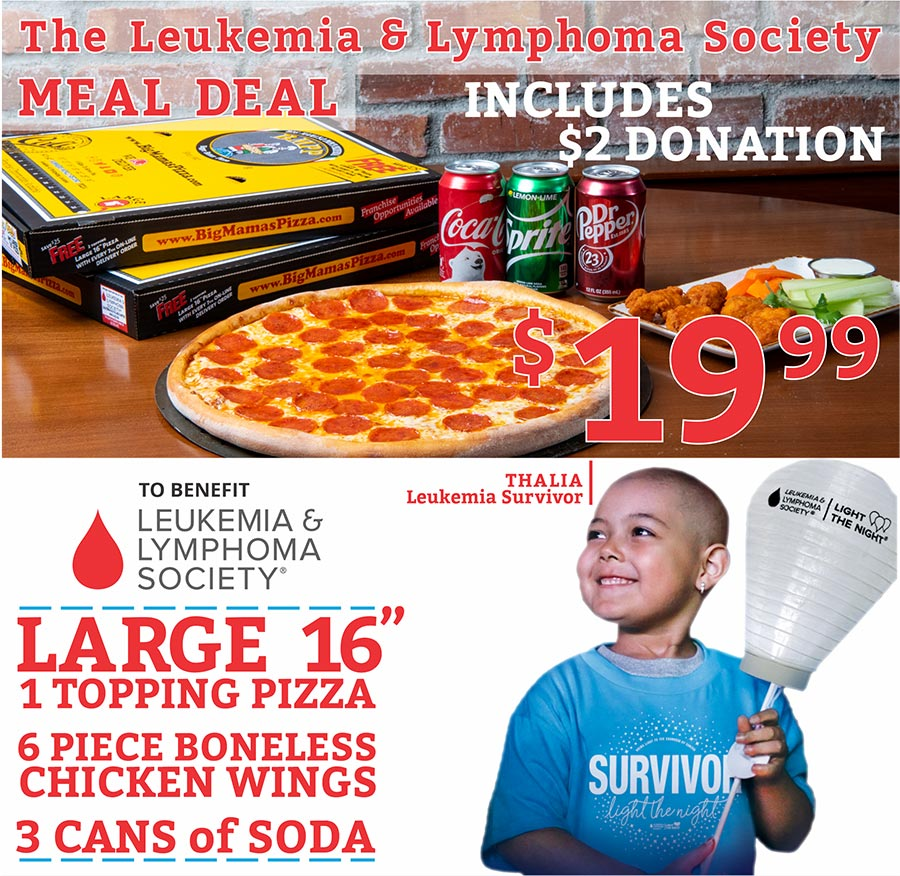 Leukemia & Lymphoma Society Meal Deal